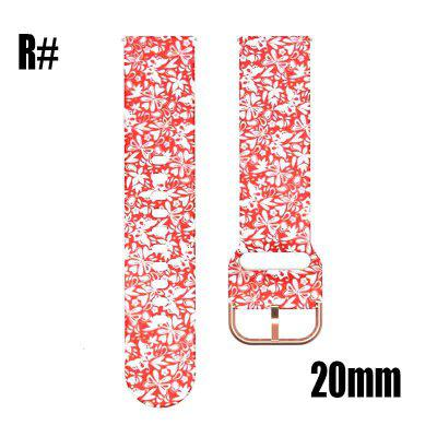 20mm Silica Strap For Huami Amazfit Smart Band Fitness Tracker Accessories Belt For Amazfit GTR Wristband Strap For Huami 22MM