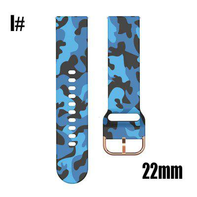 22mm Silicone Original sport watch band For Galaxy watch active smart watch strap For Samsung Galaxy watch Replacement New strap 20MM