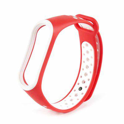 Strap For M Band 3 4 Breathable Miband Strap Replacement M3 M4 Plus Bracelet For MBand 4  3 Smart Watch Wrist