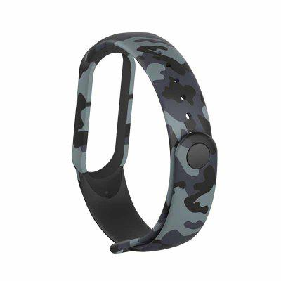 Colorful flowers for Xiaomi Mi Band 5 Strap Replacement Bracelet for mi band 5 NFC Universal silicone wrist Strap for mi5 belt