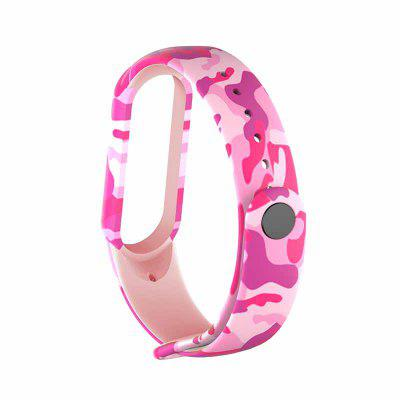 Colorful flowers for M Band 5 Strap Replacement Bracelet for m5 NFC Universal silicone wrist Strap for m5 belt