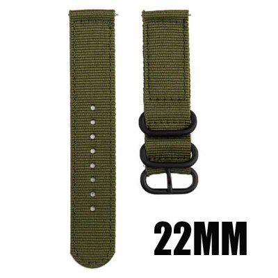 18mm 22mm 20mm Woven Nylon Watch Sport Strap Band For Samsung Galaxy Gear S3 S2 Classic Bands Amazfit Fabric band