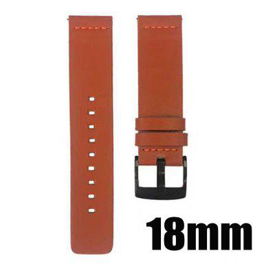 18mm 20mm 22mm 24mm Leather Watch band Strap for Amazfit Huawei GT Galaxy Watch 42 46mm Gear S3 WatchBand Quick Release