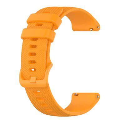 18/20/22MM Soft Silicone Watch strap for Garmin Forerunner 245/245M/Vivoactive 4 4s Smart watches band for Forerunner 645 Music Wristband
