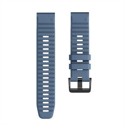 22 26mm Quick Release easyFit strap for Garmin Fenix 6X 6 6x pro 5 5X 5Plus Silicone Strap for Forerunner 935/945  Approach S60 Watchband
