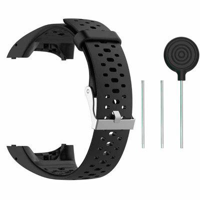 Silicone Breathable Wristband Strap for Polar M400 M430 Smart Watch Watchband Bracelet Strap Replacement for Polar M400 M430 GPS