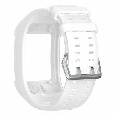 Comfortable Silicone Replacement Watch Band Wrist Strap for Polar M600 Smart Watch Wristband Strap  Classic Stainless Steel Buckle
