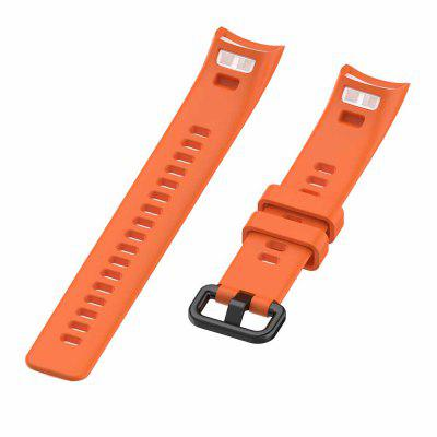 Sport Silicone Watch Strap For Honor Band 4 5 Wristbands Accessories Replacement Strap For Huawei Honor Band 5 4 Smart Bracelet
