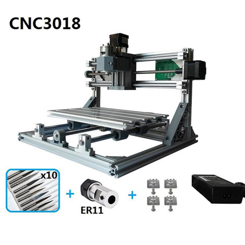 Mini Laser Engraving Machine DIY Hobby Cutting Tools - Spain CNC3018 with ER11      8%commissions - 180.94€