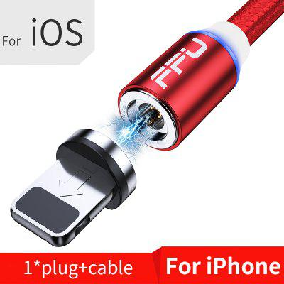 FPU Magnetic Type C USB Cable For iPhone Samsung Fast Charging Micro USB Cable Magnet Charge Cable