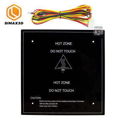 SIMAX3D 1pcs 235x235mm Heated Bed 24V with 1Meter cable Heatbed Hot HotBed Aluminum Plate