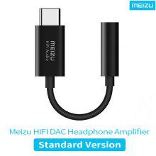 MEIZU HiFi Audio DAC 3.5mm Teléfono Tipo-C Adaptador Cable Amplificador de auriculares CS43131 Chip PCM 32bit