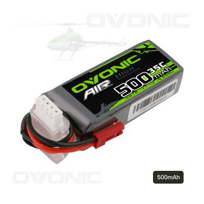 Ovonic 11.1V 500mAh 3S 35C Lipo Battery with JST Plug for RC Car Boat Truck Heli Airplane Quadcopter