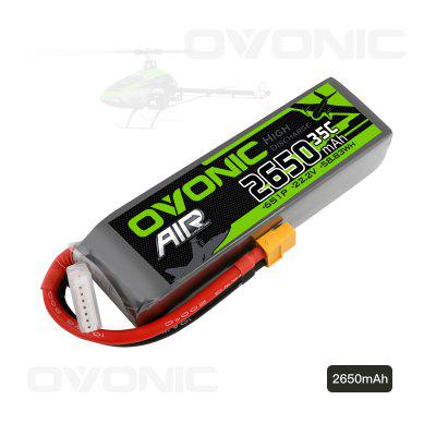 Ovonic 22.2V 2650mAh 6S 35C Lipo Battery with XT60 Plug for RC Car Boat Truck Heli Airplane