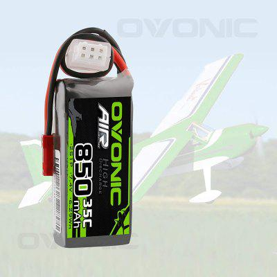Ovonic 7.4V 850mAh 2S 35C Lipo Battery with JST Plug for RC Car Boat Truck Heli Airplane Quadcopter