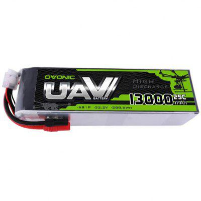 Ovonic 6S 22.2V 13000mAh 25C LiPo Battery Pack with AS150 Plug for DJI S800 S1000 Gryphon X8