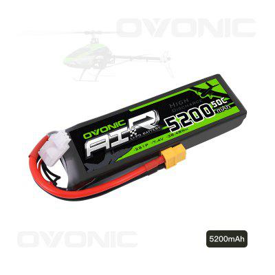 Ovonic 2S 7.4v 5200mah 50C LiPo Battery XT60 Plug RC Evader BX Car RC Truck RC Truggy RC Airplane
