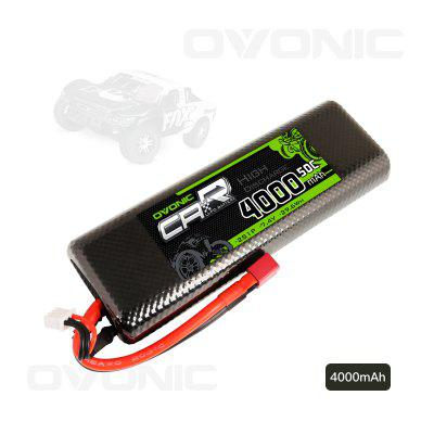 Ovonic 50C 2S 4000mAh 7.4V Lipo Battery with Deans Connector for RC Car Airplane Helicopter Hobby
