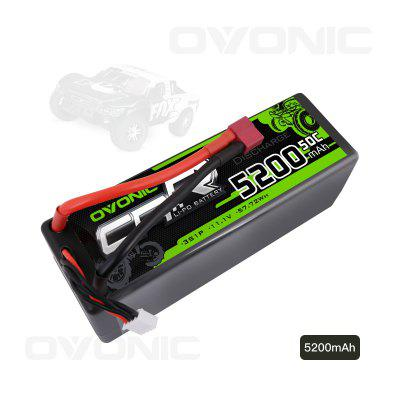 Ovonic 50C 3S 5200mAh 11.1V Lipo Battery with Deans Connector for RC Airplane Helicopter Hobby
