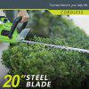 Best Partner 40Volt Max High Performance Cordless Hedge Trimmer 20Inch 2AH Battery and Charger