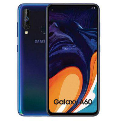 Unlocked Samsung Galaxy A60 4G Phablet Smartphone 6.3 inch Android 9.0 Snapdragon 675 Octa Core 6GB RAM 128GB ROM 32.0MP - International Version