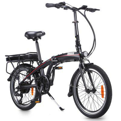 Dohiker 20 Inch 250W Electric Bicycle Folding 36V rear DC motor Aluminum Alloy Image