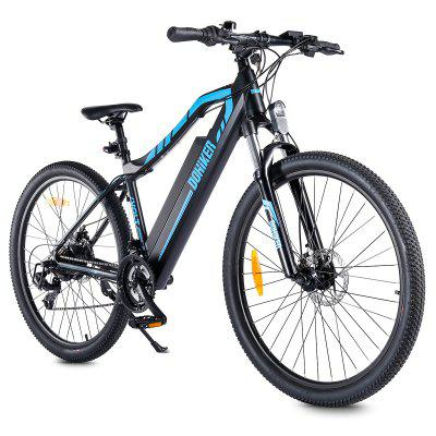 DOHIKER 27.5inch Electric Bicycle with Front Suspension Fork Dual Disc Brakes 250W Motor Removable 48V 12.5Ah Lithium-ion Battery Image