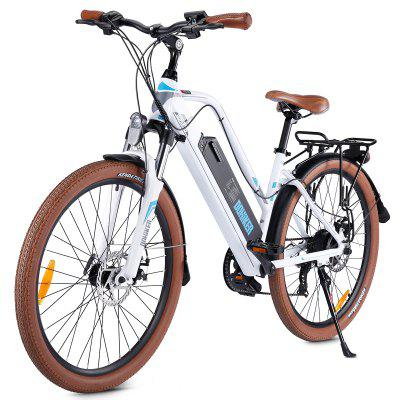 Dohiker 26MOSOW Mountain Electric Bike 26inch 250W Ebike 12.5AH 48V Removable Lithium-ion Battery Shimano 7-Speed Gear Shifts For Adults Image