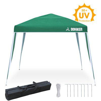 Dohiker 3mx3m Pop-up Click Garden Canopy UV Protection 50+ Folding Pavilion Waterproof Commercial Event Party Instant Tent With carrying Bag