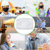 Mask Filter Pad 5-Layers Activated Carbon Anti Dust Mask Filter Paper for N95 KN95 KF94 ffp2 Masks