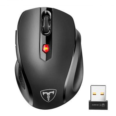 VicTsing MM057 Wireless Mouse Ergonomic Optical Mice With Side Buttons For PC Laptop Notebook Work