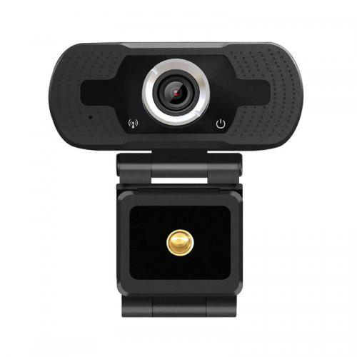 USB HD 1080P Webcam Built-in Microphone High-end Video Call Computer Peripheral Web Camera For PC - Black Germany