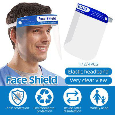 Face Shield Safety Reusable Strong Protection Clear Anti-Fog Flip-up Elastic Headband Face Shield