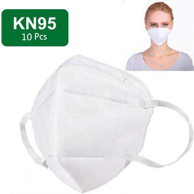 KN95 Mask N95 Respirator 5-Ply Virus Protection with Melt-blown Filter 10pcs
