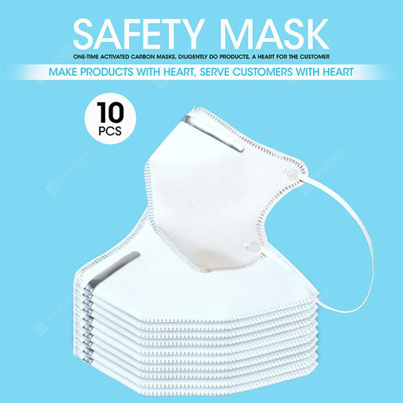 10PCS KN95 N95 Surgical Mask 5-Ply Virus