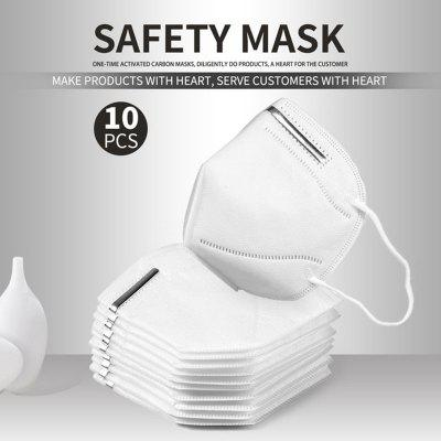 KN95 N95 Mask 5-Ply Virus Protection Respirator with Melt-blown Filter Kids Adults 10PCS