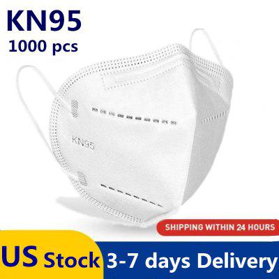 Фото - KN95 N95 Mask Dust Protection Respirator with Melt-blown Filter Adults Masks professional protective disposable mask with breathing valve 5 ply earloop protection masks