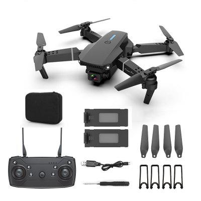 NEW E88 drone 4k HD Drone With Dual camera drone WiFi 1080p real-time transmission FPV drone follow me rc Quadcopter radiomaster tx16s hall sensor gimbals 2 4g 16ch multi protocol rf system opentx transmitter with tbs micro tx v2 for rc drone
