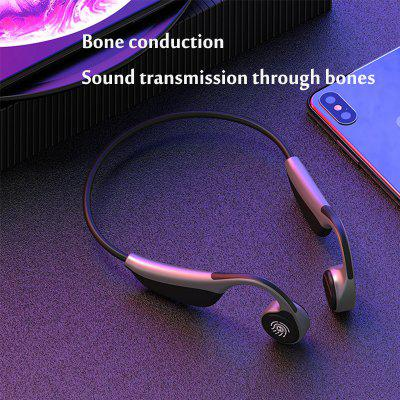 The new bone conduction Bluetooth headset stereo smart touch wireless hanging ear type