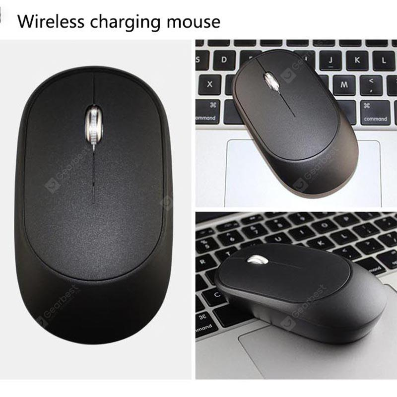 Creative Charging Mouse Office Game Dual-Use 2.4GHz Wireless Mouse Black 6 Keys