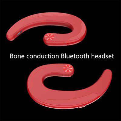 Concept Of Bone Conduction Business Bluetooth Headset