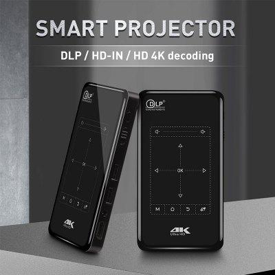 Proiettore 4K HD DLP Mini Mini proiettore intelligente Conveniente