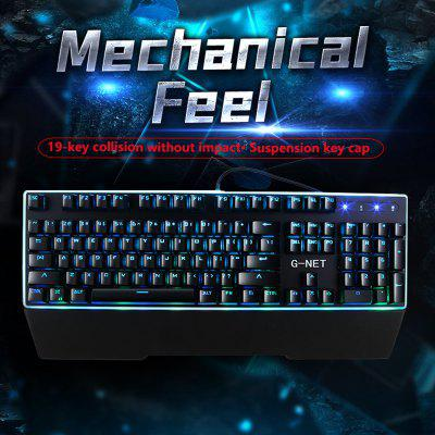 Mechanical Keyboard Desktop Laptop Keyboard Video Game Cable