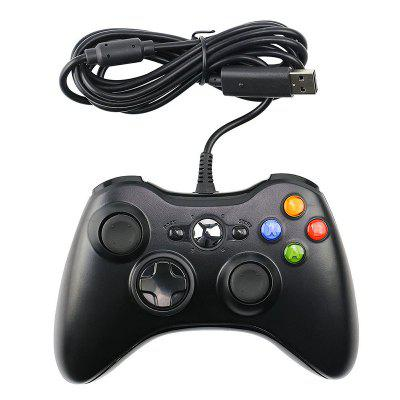 Black And White Xbox Wired Game Controller