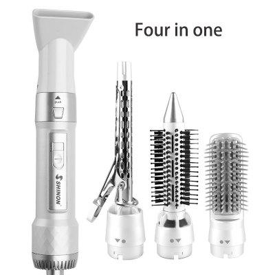 4 In 1 Straight Hair Comb Curling Straight Hair Curler Hair Dryer Multifunction Comb
