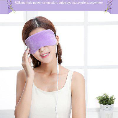 USB Heating Steam Eye Protector Electric Hot Compress Eye Mask To Relieve Dark Circles