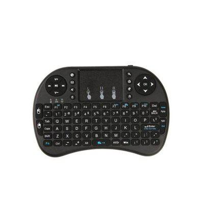I9plus Wireless Air Squirrel I8 Mini Keyboard Dry Battery Lithium Battery Seven Color Backlight