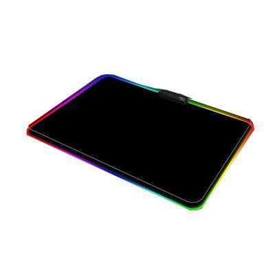 Mouse Pad Computer Thickened Luminous RGB Game Competitive Keyboard Desktop Mouse Pad