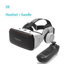 VR-headsetversion Small Mobile Virtual Reality 3D-glasögon