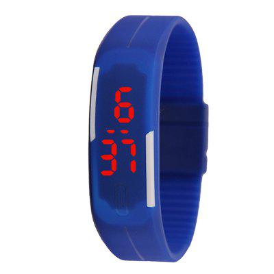 Thin Band LED Bracelet Watch Fashion Touch Children Electronic Student Watch